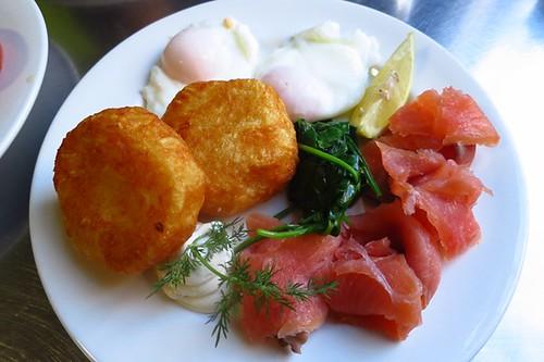 Cafe Giulia: Salmon breakfast