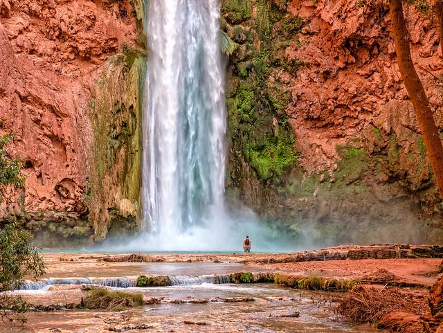 Mooney Falls, Havasupai Indian Reservation, Arizona