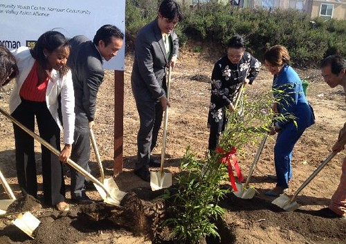 Celebrating the Groundbreaking of the Florence Fang Asian Community Garden