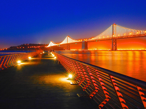 Bay Bridge from Pier 14, San Francisco