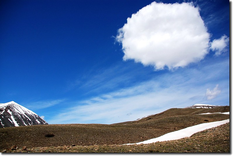 Cloud above Mount Lincoln