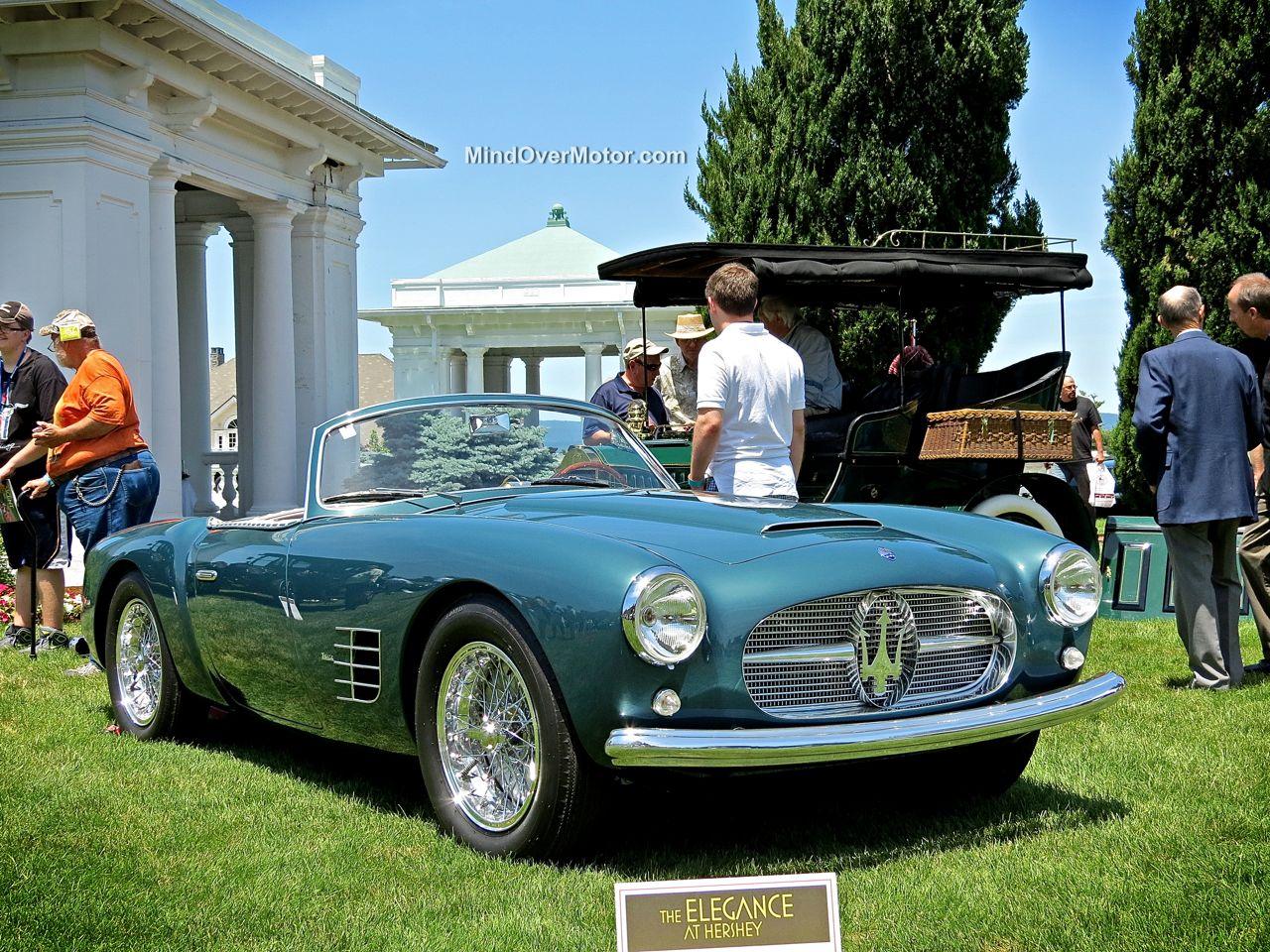 Maserati A6G 2000 Spyder Zagato at Hershey