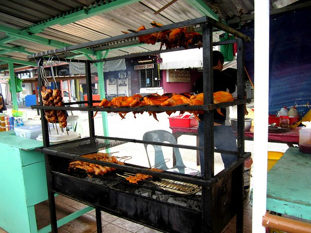 Bandong roadside food stall 2