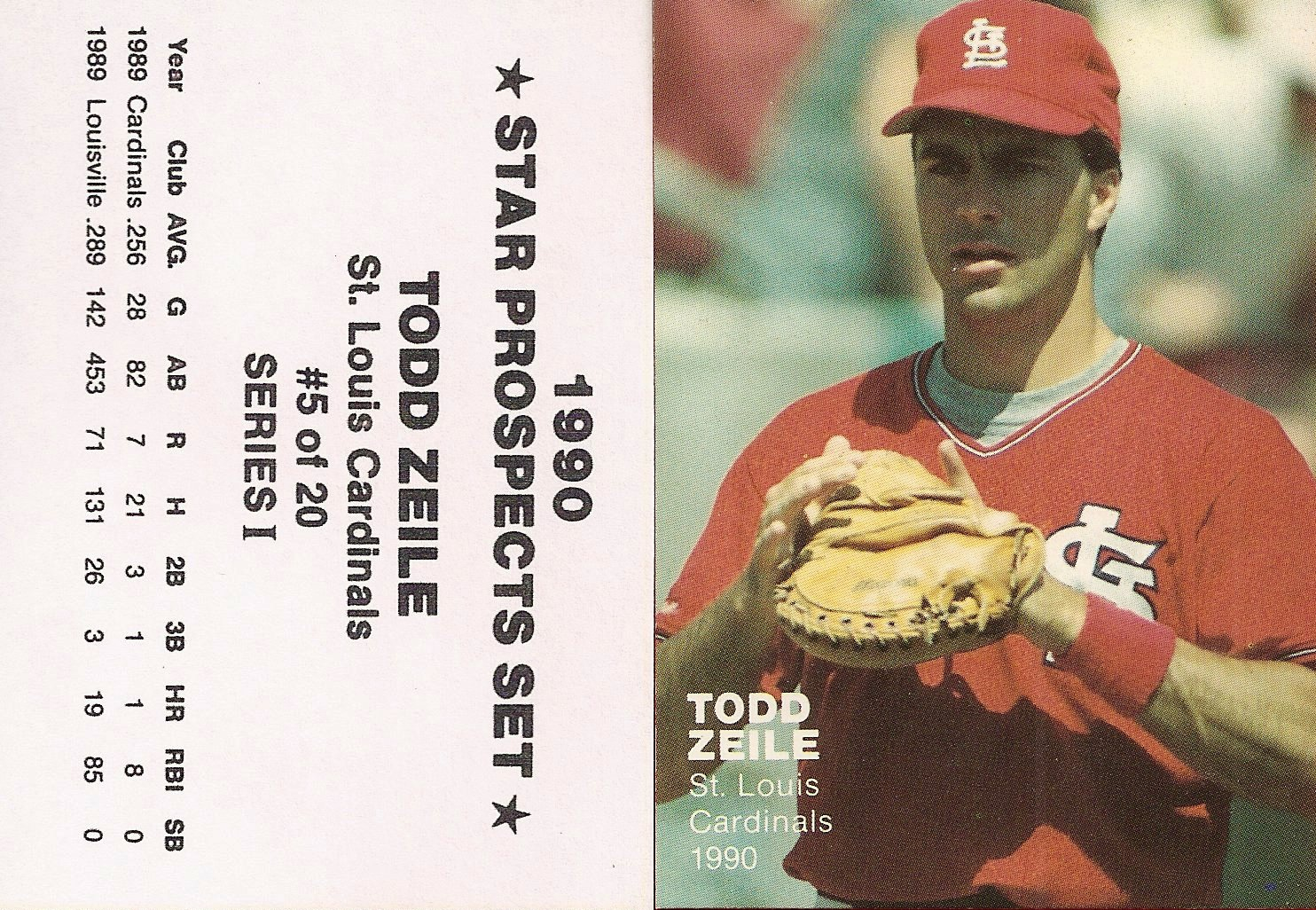 1990 Star Prospects Set Series I