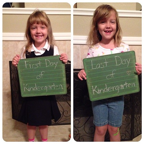 156:365 Hard to believe she's already finished up her first year of school!