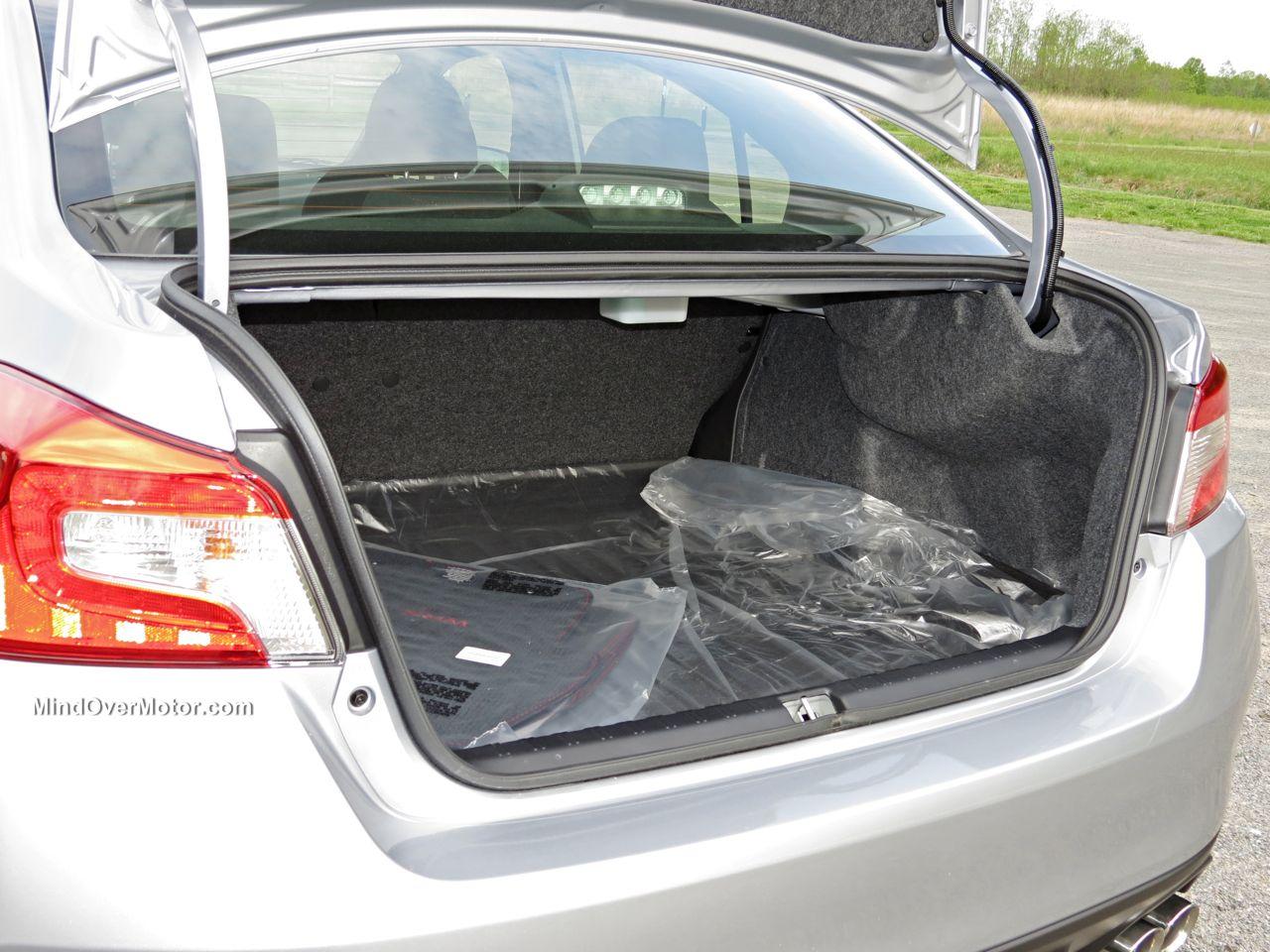2015 Subaru WRX Trunk