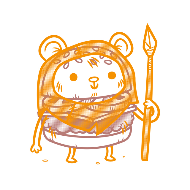 Cheeseburger Ewok