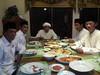 Menyertai Bpk Jokowidodo pd jamuan makan malam bersama dgn Guru Wildan di Martapura 25 Mei 2019