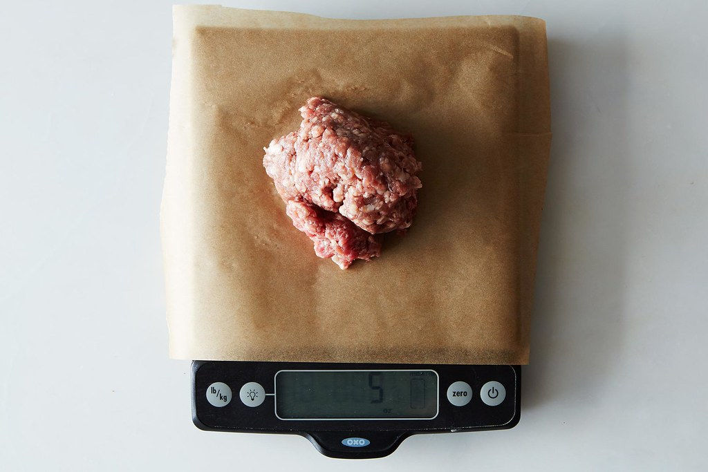Weighing Burgers on Food52