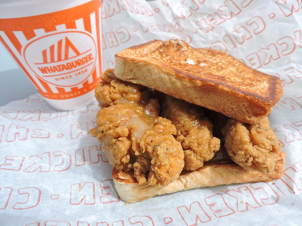 Honey Butter Chicken Strip Sandwich