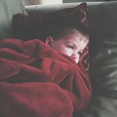 Sick baby.  :-(