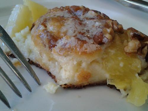 pecan pineapple pancake; O-B House Fort Lauderdale