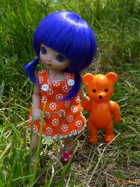 Cassis & her bear