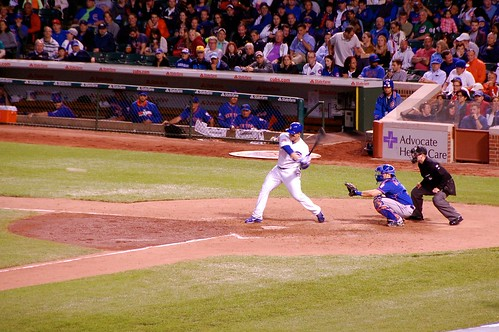 Anthony Rizzo about to go deep