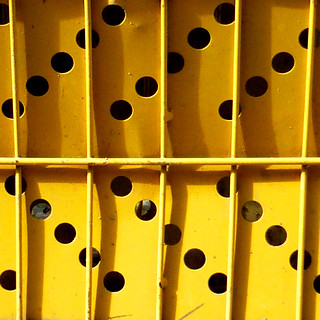 yellow holes