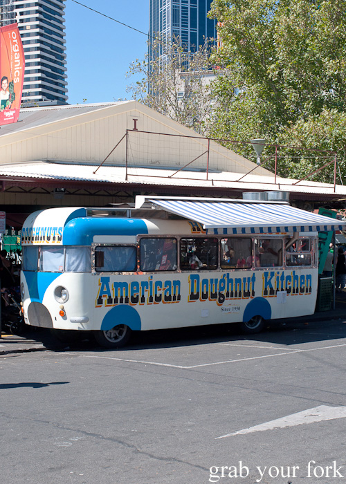 American Doughnut Kitchen van at Queen Victoria Market, Melbourne