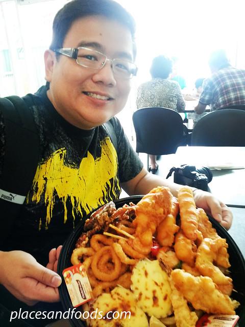 sushi bar seafood platter wilson