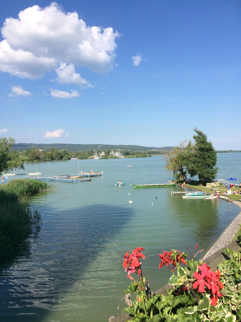 the lake balaton by - photo #17