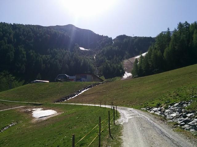 Aufstieg Klaussee und Rauchkofel, Talstation K2