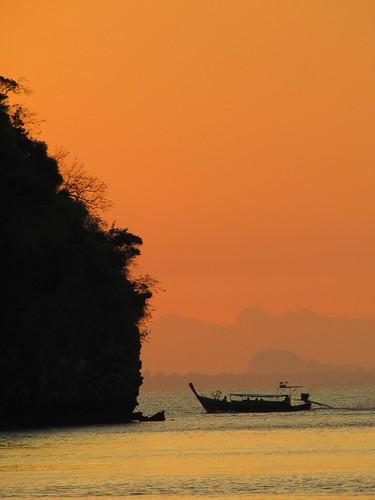 sunrise thailand sonnenaufgang railayeast