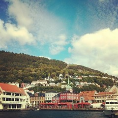 'Twas a nice afternoon in #Bergen yesterday. #norway