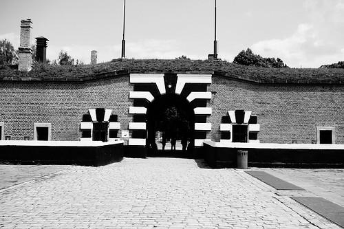 テレジン収容所入口