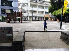 代官山公園にて 2014/6/21