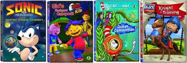 NCircle Entertainment Summer 2014 DVDs set 2