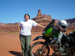 Jayne midway on Potash Road in Utah