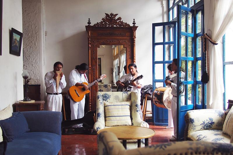 Ecuador: Hacienda Pinsaqui