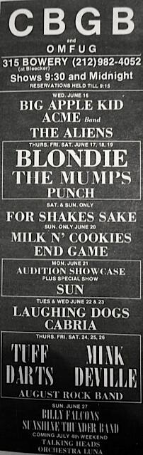 CBGB 06-16-76
