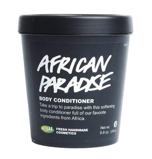 LUSH-summer-2014-African-Paradise, LUSH body conditioner, body moisturizer