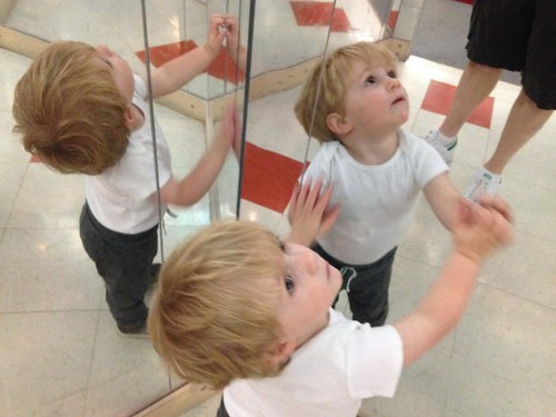 Martin in Mirror Room