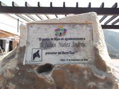 Photo of Julián Nuñez Andreu clear plaque