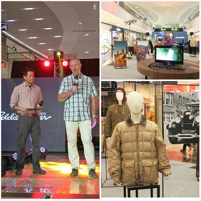 Eddie Bauer Brand Launch Manila