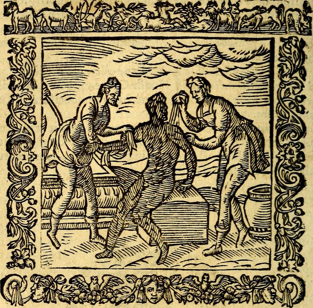 """Image from page 279 of """"Omnia Andreae Alciati v.c. emblemata, cum commentariis, quibus emblematum aperta origine mens auctoris explicatur, & obscura omnia, dubiáque illustrantur Adiectae ad calcem Notae posteriores"""" (1589)"""