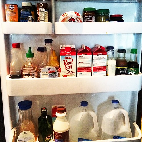 And the #fridge door! Nothing really exciting here though! #foodgram #foodie