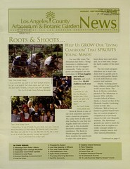 Los Angeles County Arboretum & Botanic Garden News