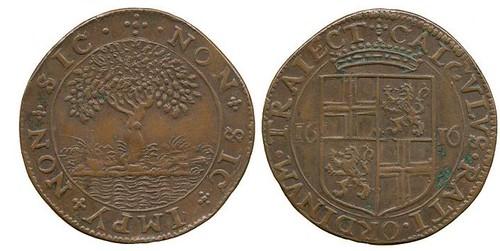 1616 Jeton, Batavia-East Indies