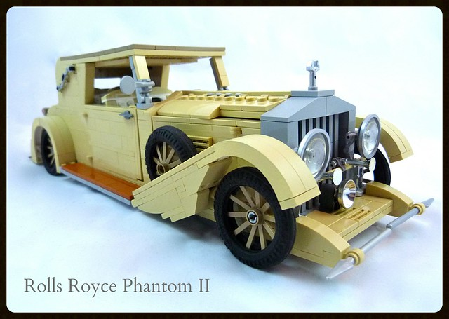 Rolls Royce Phantom II…Vanilla Flavor