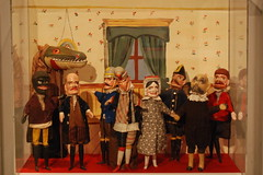 Historic Richmond Town - Historical Museum - Toys! - Punch and Judy Puppet Set, ca 1879-1900