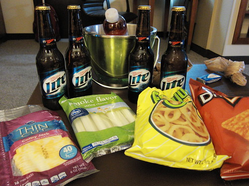 Miller Lite and Cheese