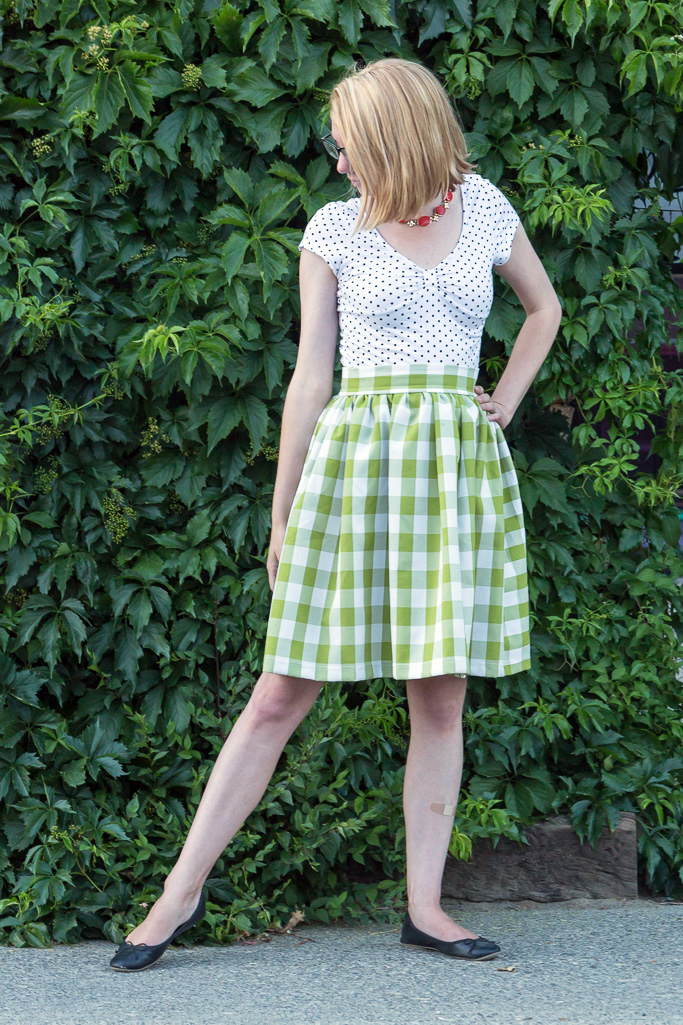 flock together, never fully dressed, withoutastyle, shabby apple, green gingham, tea,