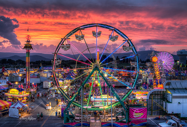 Deggeller Dusk - Sunset Twilight Salem Fair 2014