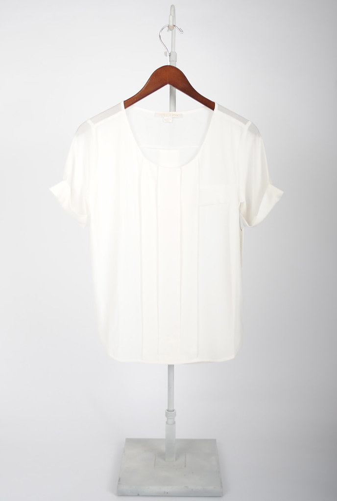 Karen Pleated Blouse