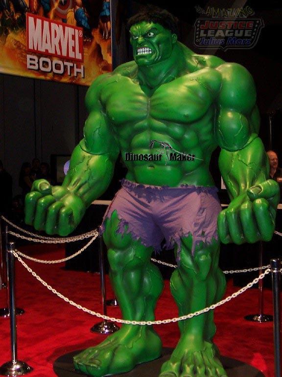 Fiberglass Hulk Statue