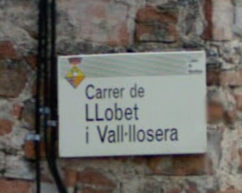 *Vall·llosera, Vall-llosera