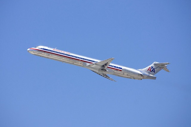 McDonnell-Douglas MD 80 American Airlines DSC_0713