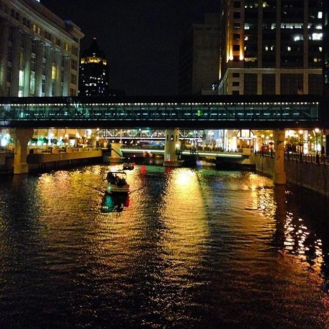 Pretty Milwaukee night.
