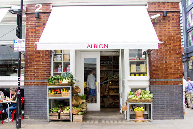 places to eat in Shoreditch Albion